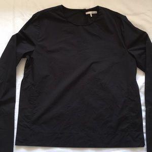 Oak + Fort black blouse, size M